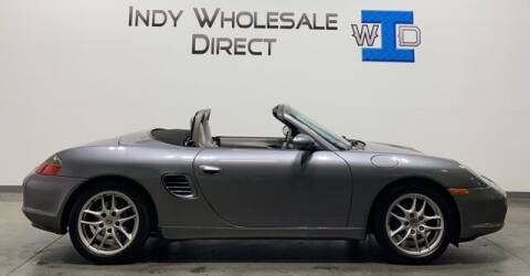2003 Porsche Boxster for sale at Indy Wholesale Direct in Carmel IN