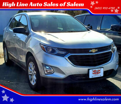 2018 Chevrolet Equinox for sale at High Line Auto Sales of Salem in Salem NH