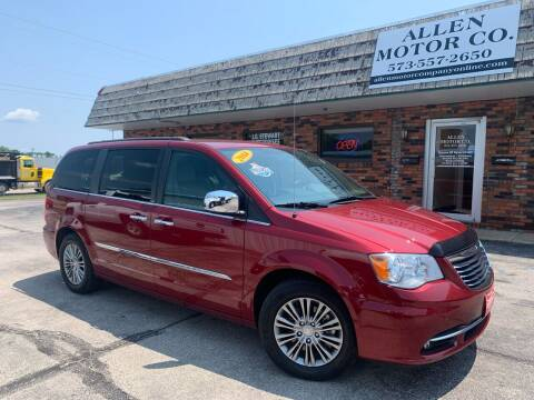 2014 Chrysler Town and Country for sale at Allen Motor Company in Eldon MO
