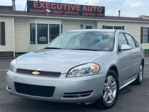 2013 Chevrolet Impala for sale at Executive Auto in Winchester VA