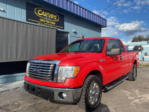 2012 Ford F-150 for sale at CAR VIPS ORLANDO LLC in Orlando FL