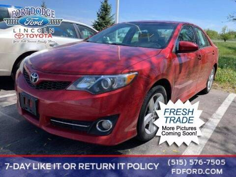 2012 Toyota Camry for sale at Fort Dodge Ford Lincoln Toyota in Fort Dodge IA