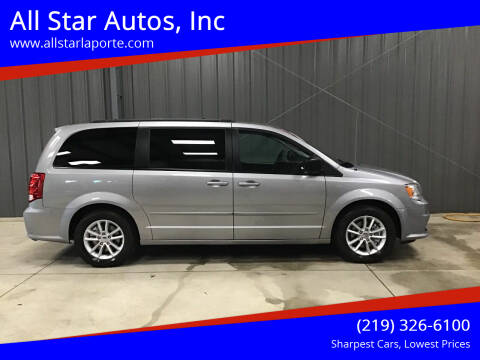2017 Dodge Grand Caravan for sale at All Star Autos, Inc in La Porte IN