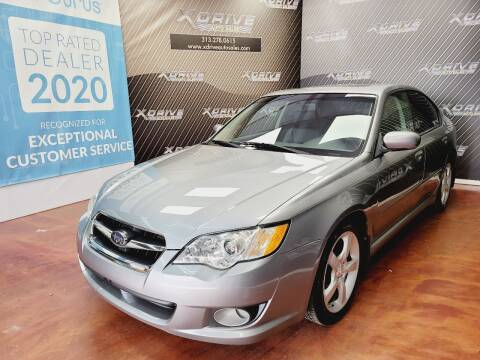 2008 Subaru Legacy for sale at X Drive Auto Sales Inc. in Dearborn Heights MI