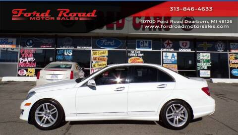2013 Mercedes-Benz C-Class for sale at Ford Road Motor Sales in Dearborn MI