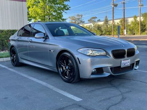 2011 BMW 5 Series for sale at COUNTY AUTO SALES in Rocklin CA