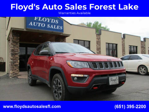 2019 Jeep Compass for sale at Floyd's Auto Sales Forest Lake in Forest Lake MN