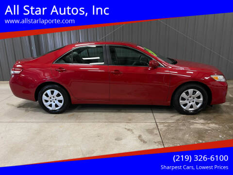 2010 Toyota Camry for sale at All Star Autos, Inc in La Porte IN
