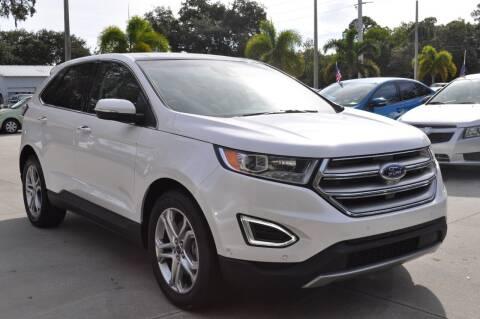 2015 Ford Edge for sale at STEPANEK'S AUTO SALES & SERVICE INC. in Vero Beach FL