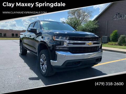 2020 Chevrolet Silverado 1500 for sale at Clay Maxey Springdale in Springdale AR