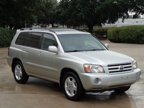 2007 Toyota Highlander for sale at Auto Starlight in Dallas TX