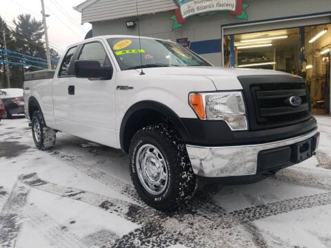 2014 Ford F-150 for sale at Bizzarro`s Fleetwing Auto Sales in Erie PA