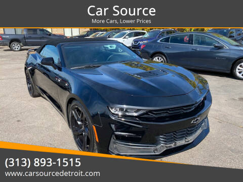 2019 Chevrolet Camaro for sale at Car Source in Detroit MI