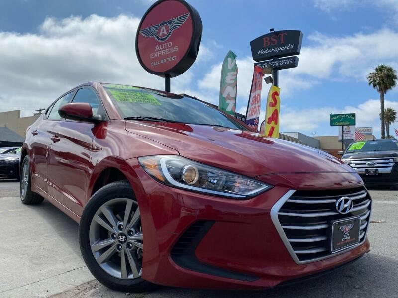 2017 Hyundai Elantra for sale at Auto Express in Chula Vista CA