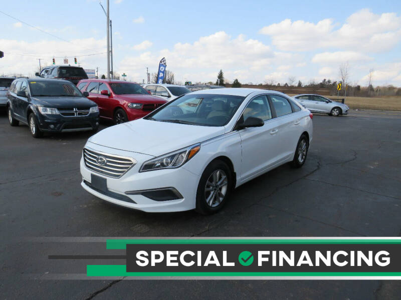 2016 Hyundai Sonata for sale at A to Z Auto Financing in Waterford MI