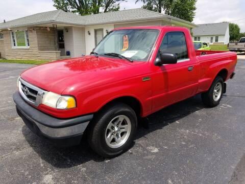 2001 Mazda B-Series Pickup for sale at CALDERONE CAR & TRUCK in Whiteland IN
