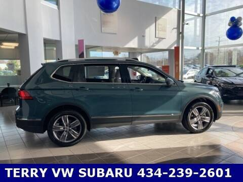 2021 Volkswagen Tiguan for sale at Terry of South Boston in South Boston VA