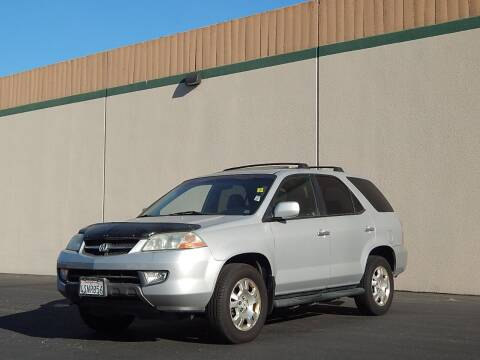 2001 Acura MDX for sale at Crow`s Auto Sales in San Jose CA