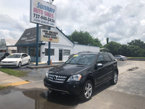 2009 Mercedes-Benz M-Class for sale at Sunray Auto Sales Inc. in Holiday FL