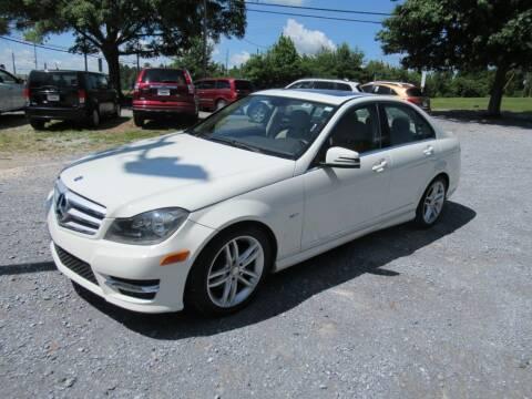 2012 Mercedes-Benz C-Class for sale at Dallas Auto Mart in Dallas GA
