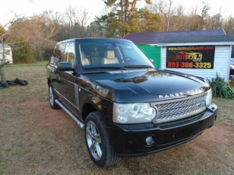 2007 Land Rover Range Rover for sale at Hot Deals Auto LLC in Rock Hill SC