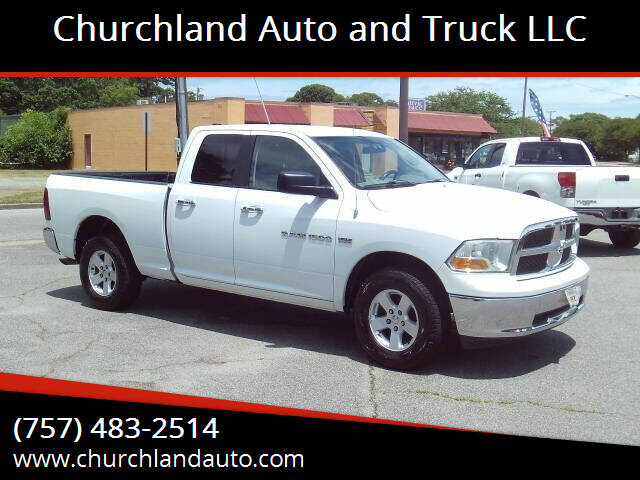 2011 RAM Ram Pickup 1500 for sale at Churchland Auto and Truck LLC in Portsmouth VA