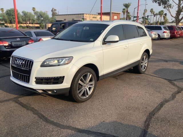 2013 Audi Q7 for sale at ALMOST NEW AUTO RENTALS & SALES in Mesa AZ