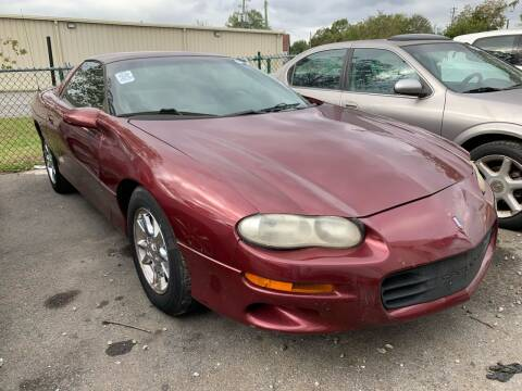 2002 Chevrolet Camaro for sale at Diana Rico LLC in Dalton GA