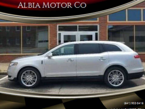 2019 Lincoln MKT for sale at Albia Motor Co in Albia IA