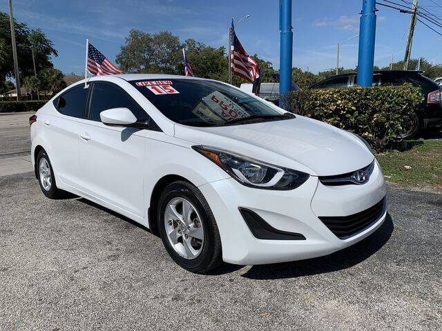 2015 Hyundai Elantra for sale at AUTO PROVIDER in Fort Lauderdale FL