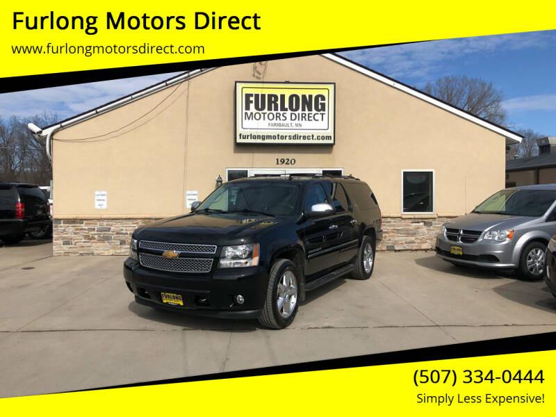 2013 Chevrolet Suburban for sale at Furlong Motors Direct in Faribault MN