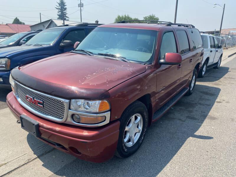 2001 GMC Yukon XL for sale at Cliff's Qualty Auto Sales in Spokane WA