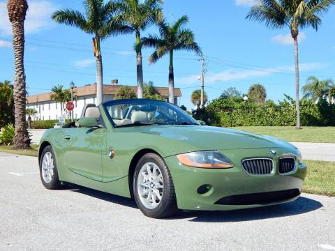 2003 BMW Z4 for sale at VE Auto Gallery LLC in Lake Park FL