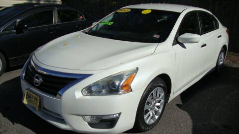 2013 Nissan Altima for sale at Easy Ride Auto Sales Inc in Chester VA