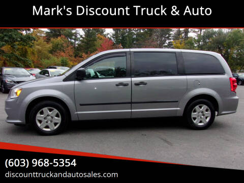 2013 Dodge Grand Caravan for sale at Mark's Discount Truck & Auto in Londonderry NH