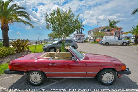 1989 Mercedes-Benz 560-Class for sale at Top Classic Cars LLC in Fort Myers FL