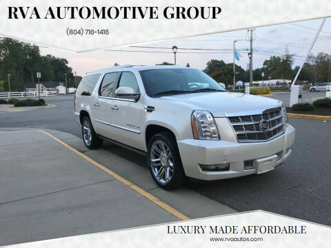 2010 Cadillac Escalade ESV for sale at RVA Automotive Group in North Chesterfield VA