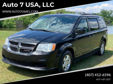 2012 Dodge Grand Caravan for sale at Auto 7 USA, LLC in Orlando FL