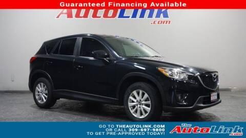 2014 Mazda CX-5 for sale at The Auto Link Inc. in Bartonville IL