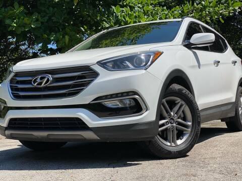 2017 Hyundai Santa Fe Sport for sale at HIGH PERFORMANCE MOTORS in Hollywood FL