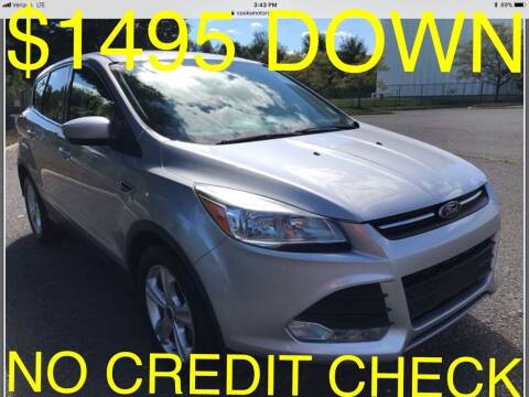 2016 Ford Escape for sale at Cooks Motors in Westampton NJ