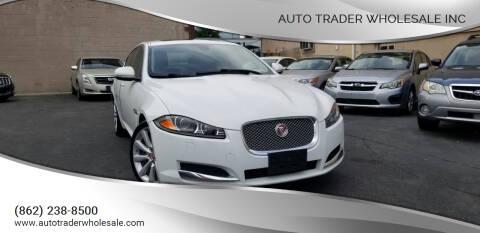 2014 Jaguar XF for sale at Auto Trader Wholesale Inc in Saddle Brook NJ