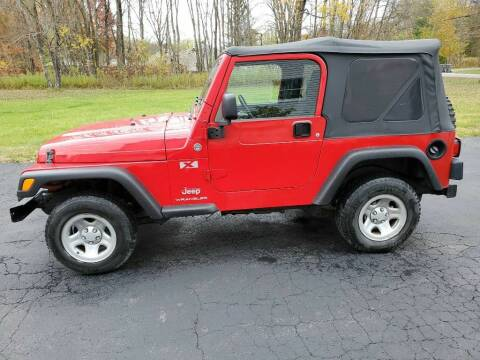 2006 Jeep Wrangler for sale at CRYSTAL MOTORS SALES in Rome NY