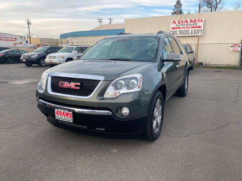 2011 GMC Acadia for sale at Adams Auto Sales in Sacramento CA