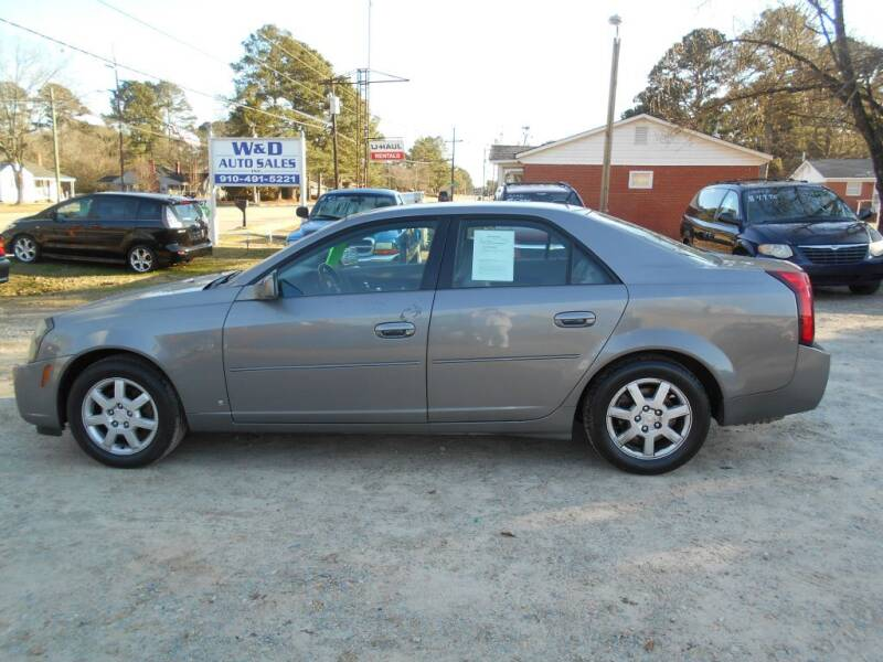 2006 Cadillac CTS for sale at W & D Auto Sales in Fayetteville NC