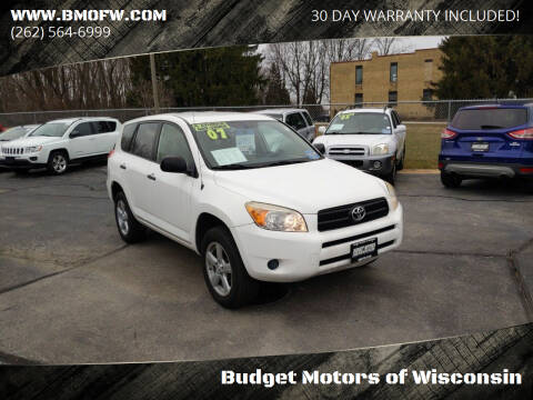 2007 Toyota RAV4 for sale at Budget Motors of Wisconsin in Racine WI