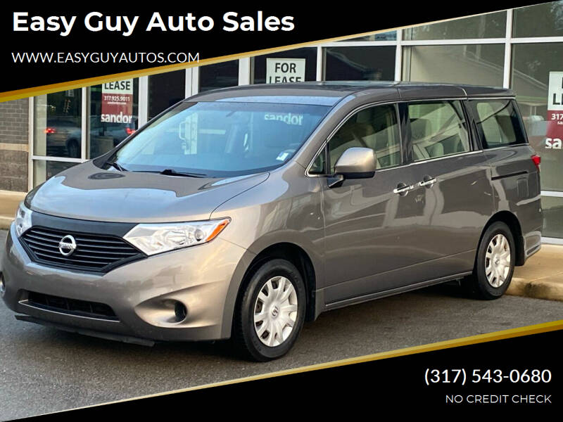2015 Nissan Quest for sale at Easy Guy Auto Sales in Indianapolis IN
