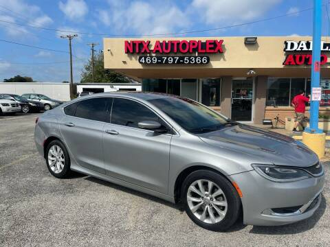 2015 Chrysler 200 for sale at NTX Autoplex in Garland TX