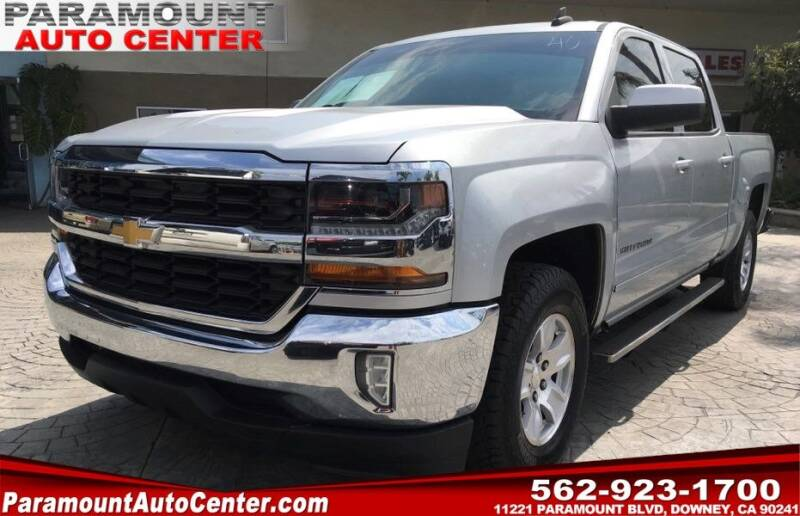 2016 Chevrolet Silverado 1500 for sale at PARAMOUNT AUTO CENTER in Downey CA