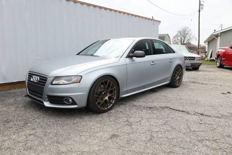 2010 Audi A4 for sale at Queen City Classics in West Chester OH
